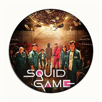 Squid Game Badge Round Badge Backpack Accessories-44mm