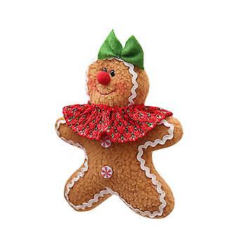 Homemiyn Navidad Pan de jengibre Hombre Colgante Decoración Pan de jengibre Figuritas Árbol de Navidad Adorno