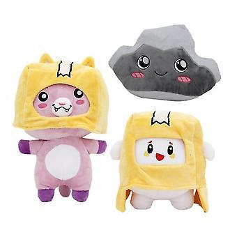Caraele 3pcs Lankybox Plush Toy