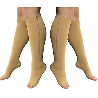 Zip Sox-Unterstützung Socke mit Reißverschluss