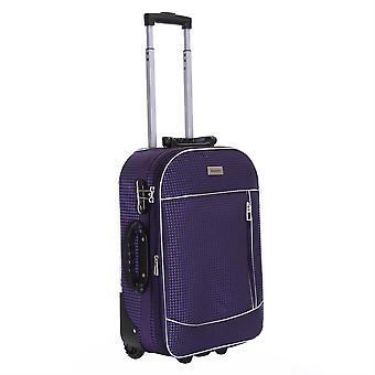 Slimbridge Rennes cabina 55 cm maleta expandible, ciruela