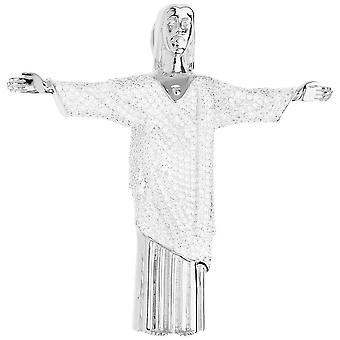 قسط بلينغ-925 الاسترليني الفضة كريستو ريدينتور مقطورة