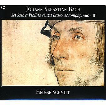 JS バッハ - バッハ: Sei ソロ、ヴィオリーノ センツァ ・ バッソ砕き、.、Vol. 2 [CD] USA 輸入