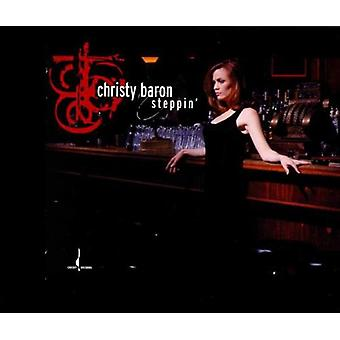 Christy Baron - Steppin' [CD] USA import