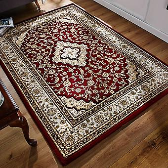 Ottoman Temple Red  Rectangle Rugs Traditional Rugs
