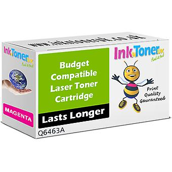 Tóner compatible HP 644A Magenta Q6463A para Laserjet CM4730FSK