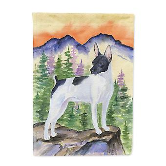 Carolines Treasures  SS8224-FLAG-PARENT Rat Terrier Flag