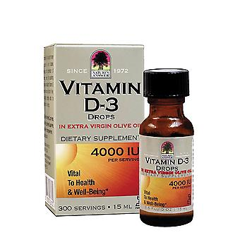 Natures Answer, Vitamin D3 Drops, 15ml