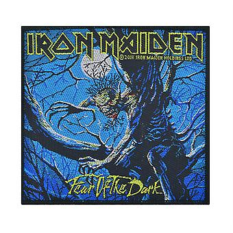 Iron Maiden Fear Of The Dark - Blue - Woven Patch