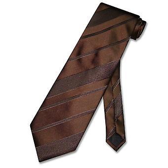 Vesuvio Napoli halsduk vävd randig Design mäns hals slips