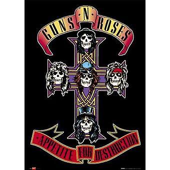 Guns N Roses - Appetite for Destruction Poster Print (24 x 36)