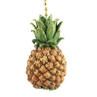 Ziehen Sie Gastfreundschaft frische Ananas Südfrüchte Fan Deckenleuchte