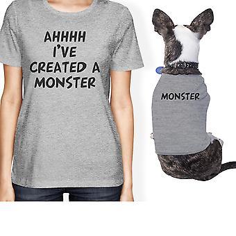 Созданная чудовище малых владелец животного соответствующий подарок наряды серый подарки