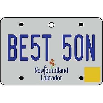 NEWFOUNDLAND og LABRADOR - bedste søn nummerplade bil luftfriskere