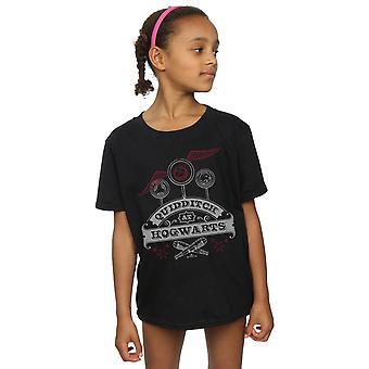 Harry Potter Quidditch di ragazze a Hogwarts t-shirt