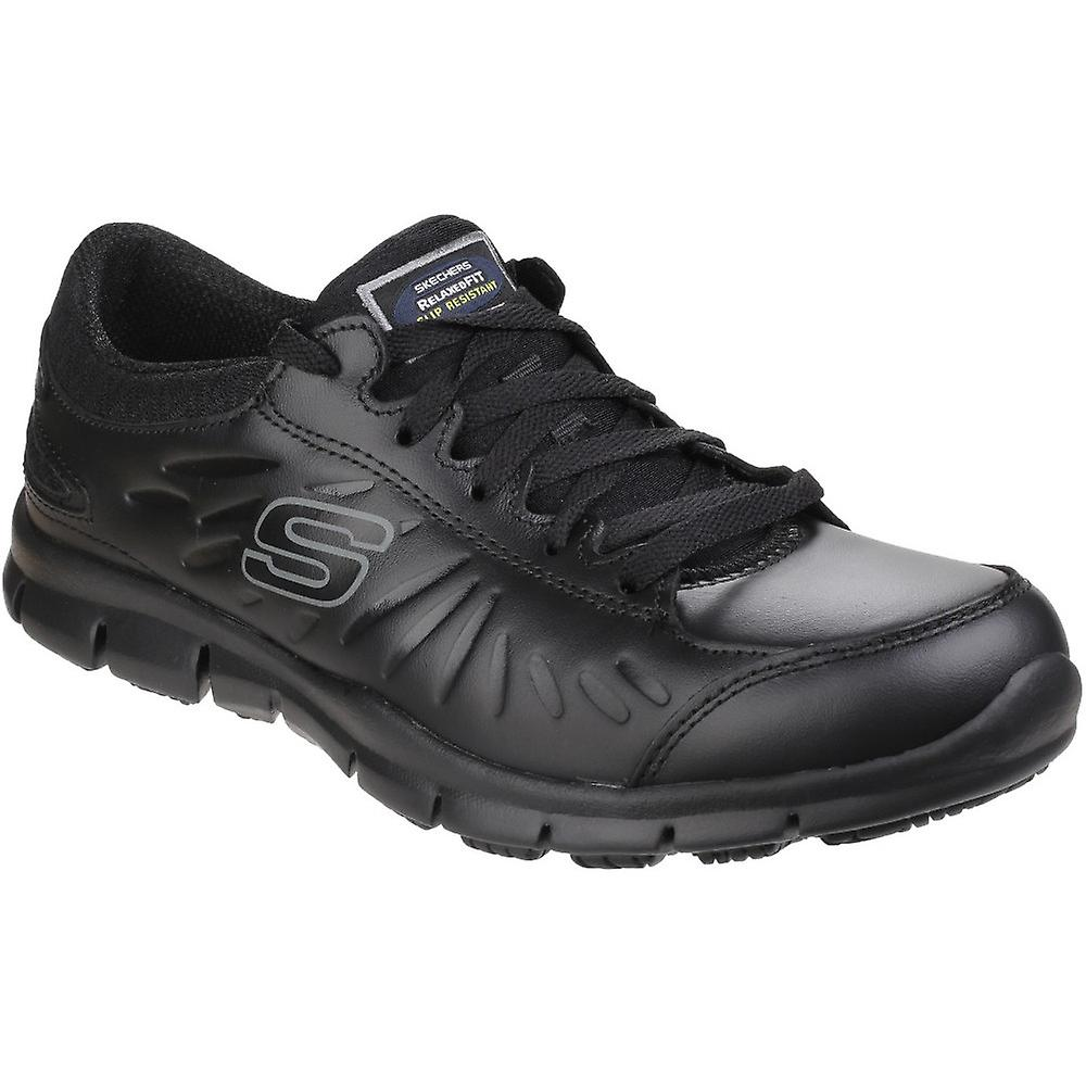 Skechers Womens/Ladies Eldred Slip Resistant Lace up Work Safety Shoes