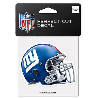 Wincraft Helm Aufkleber 10x10cm - NFL New York Giants