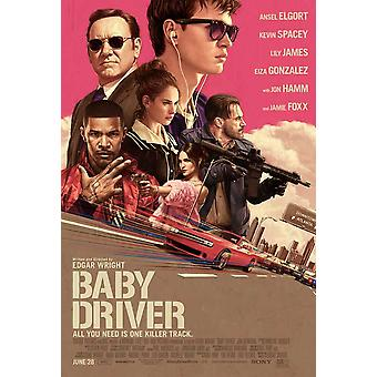 Baby Driver Movie Poster (11 x 17)