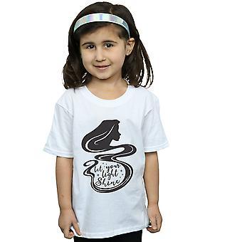 Disney flickor trassliga Rapunzel siluett T-Shirt