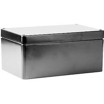 Deltron skap 487-261609A Universal kabinett 260 x 160 x 90 Aluminium grå 1 eller flere PCer