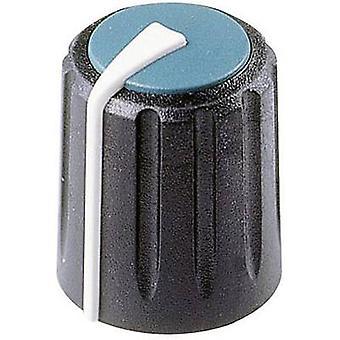 Rean F 317 S 096 Control knob Black, Blue (Ø x H) 17 mm x 17.75 mm 1 pc(s)