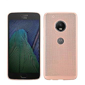 Mobiele telefoon geval voor Motorola Moto G4 mouw zaak tas cover case roze