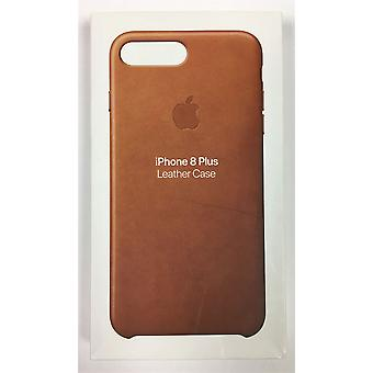 Apple Leather Case for iPhone 8 Plus/7 Plus - Saddle Brown