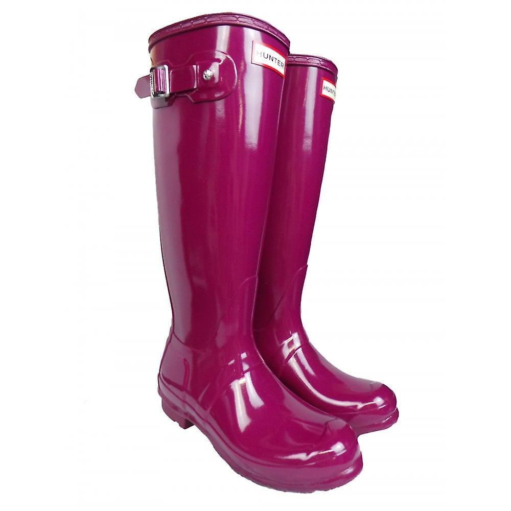 Hunter Ladies Footwear Original Tall Gloss