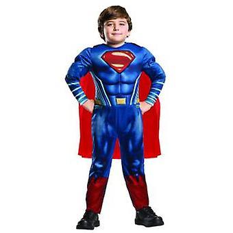 Superman Justice League Deluxe Kostüm Kinder Superheld Fasching