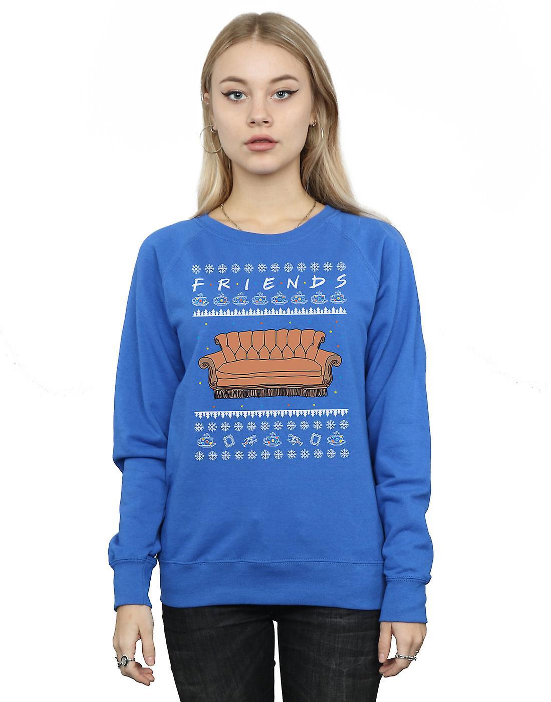 Friends Women's Fair Isle Couch Sweatshirt