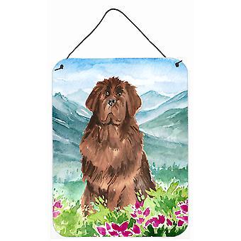 Mountain Flowers Newfoundland Wall or Door Hanging Prints