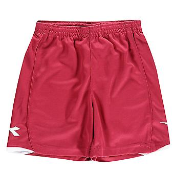 Diadora Kinder jungen Kingston Fußball Shorts Junior-Leichtgewicht Hose Hosen & Röcke