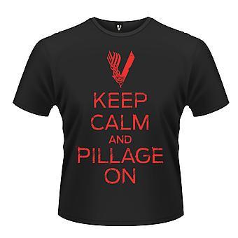 Vikingos - mantenga calma t-shirt