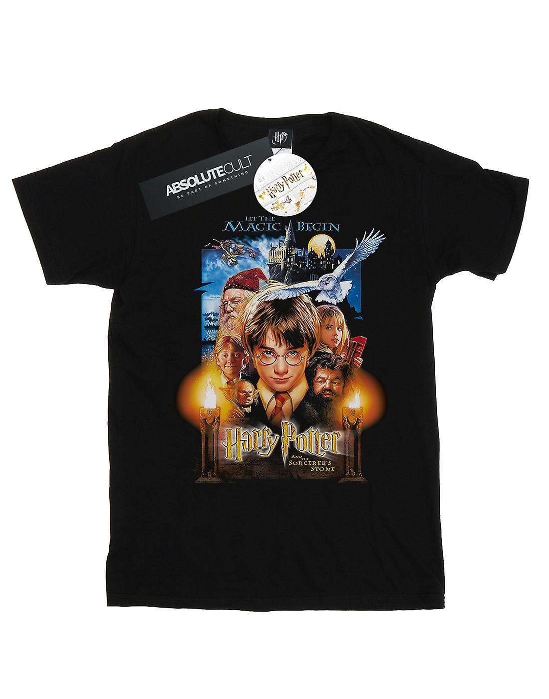 Harry Potter Boys The Sorcerer's Stone Poster T-Shirt