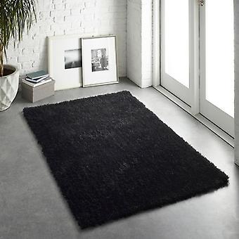 Chicago negro rectángulo alfombras llano casi llanos alfombras