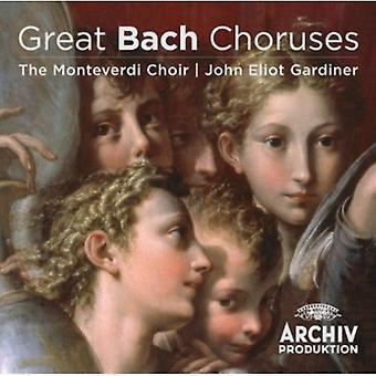 John Eliot Gardiner - importation USA grands chœurs de Bach [CD]