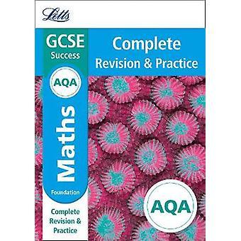 AQA GCSE 9-1 Maths Foundation Complete Revision & Practice (Letts