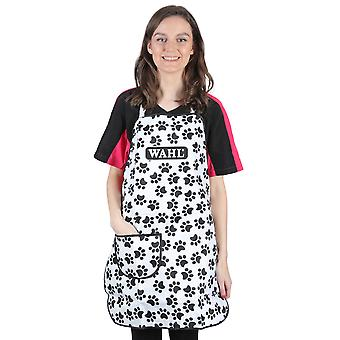 Wahl Splash-Proof Microfibre Paw Print Dog Grooming Apron