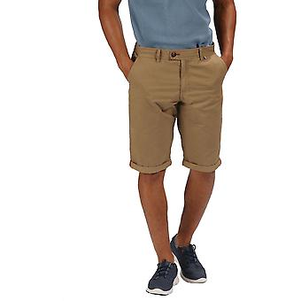 Regatta Mens Santino Coolweave bomull Multi Pocket Shorts