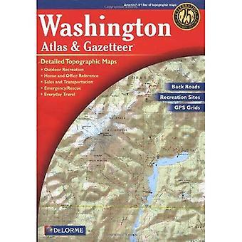Washington Atlas and Gazetteer (Washington Atlas & Gazetteer)