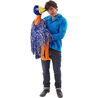 Orion Costumes Mens Rob and Emu Bird Ventriloquist Puppet TV Fancy Dress