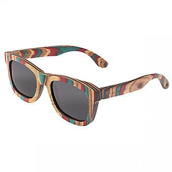 Spectrum Moriarty Wood Polarized Sunglasses - Multi/Black