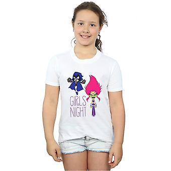 DC Comics meisjes Teen Titans gaan meisjes nacht T-Shirt