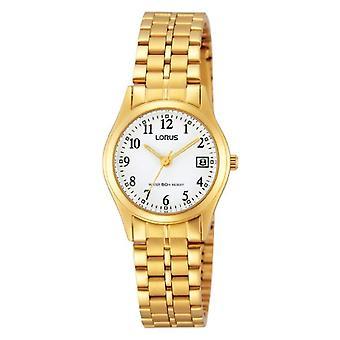 Lorus RH766AX9-שעון יד של נשים, נירוסטה, צבע: זהב