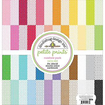 Doodlebug Petite Prints Double-Sided Cardstock 12