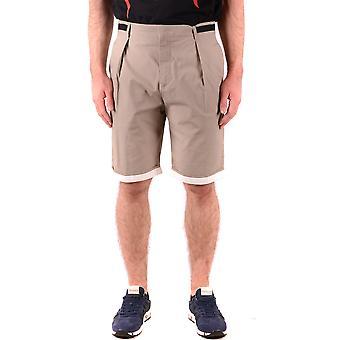 Mcq Door Alexander Mcqueen Ezbc053058 Men's Beige Cotton Shorts