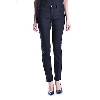 Trussardi Ezbc149012 Women's Black Denim Jeans