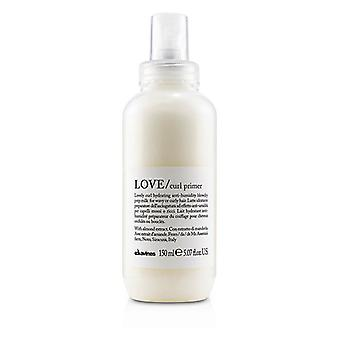 Davines Love curl primer (Lovely curl HYDRATING anti-vochtigheid Blow Dry prep melk voor golvende of krullend haar)-150ml/5.07 Oz