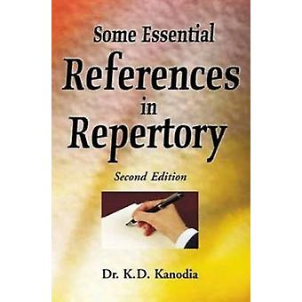 Some Essential References in Repertory (2nd Revised edition) by K. D.