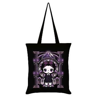 Mio Moon Miss Addams Tote Bag